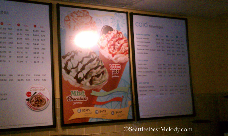 4 - 19 - 1979 Sea Tac Airport 17June2012 SeattlesBest Coffee MenuBds
