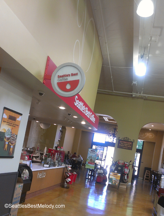 IMAG5749 Interior Seattles Best Coffee location in Garden Grove California June 2013