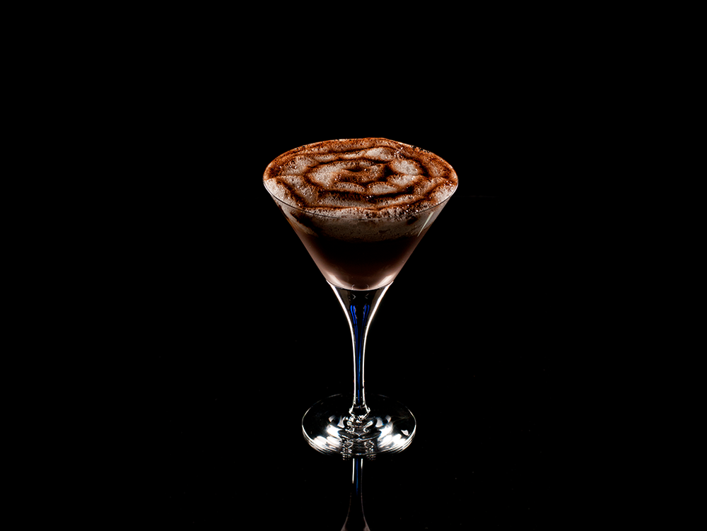 Warm Dark Chocolate Martini