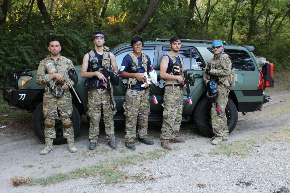 Texas squad