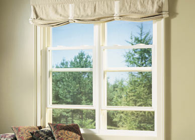 New Construction windows are available in Single and Double Hung