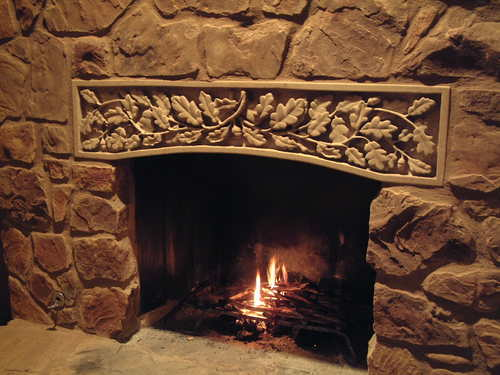 Custom Stone Fireplaces. Custom carved fireplace surround  Private residence New Braunfels TX Fireplace Surrounds Sean Klinksiek Stone Carving