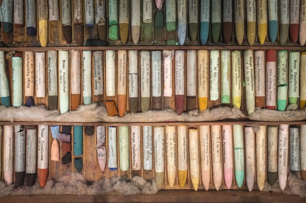 Georgia O'Keeffe's colors