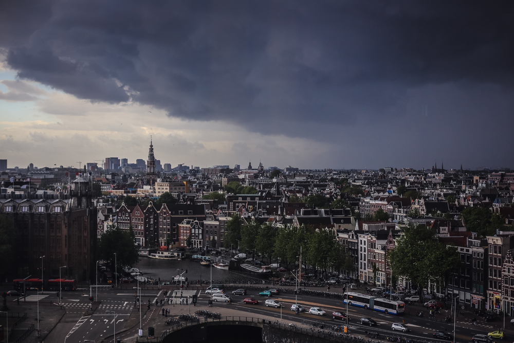 Clouds over Amsterdam
