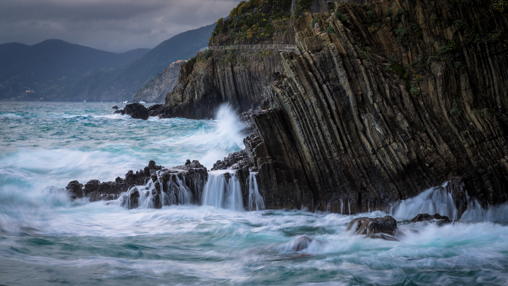 Stormy Cinque Terre
