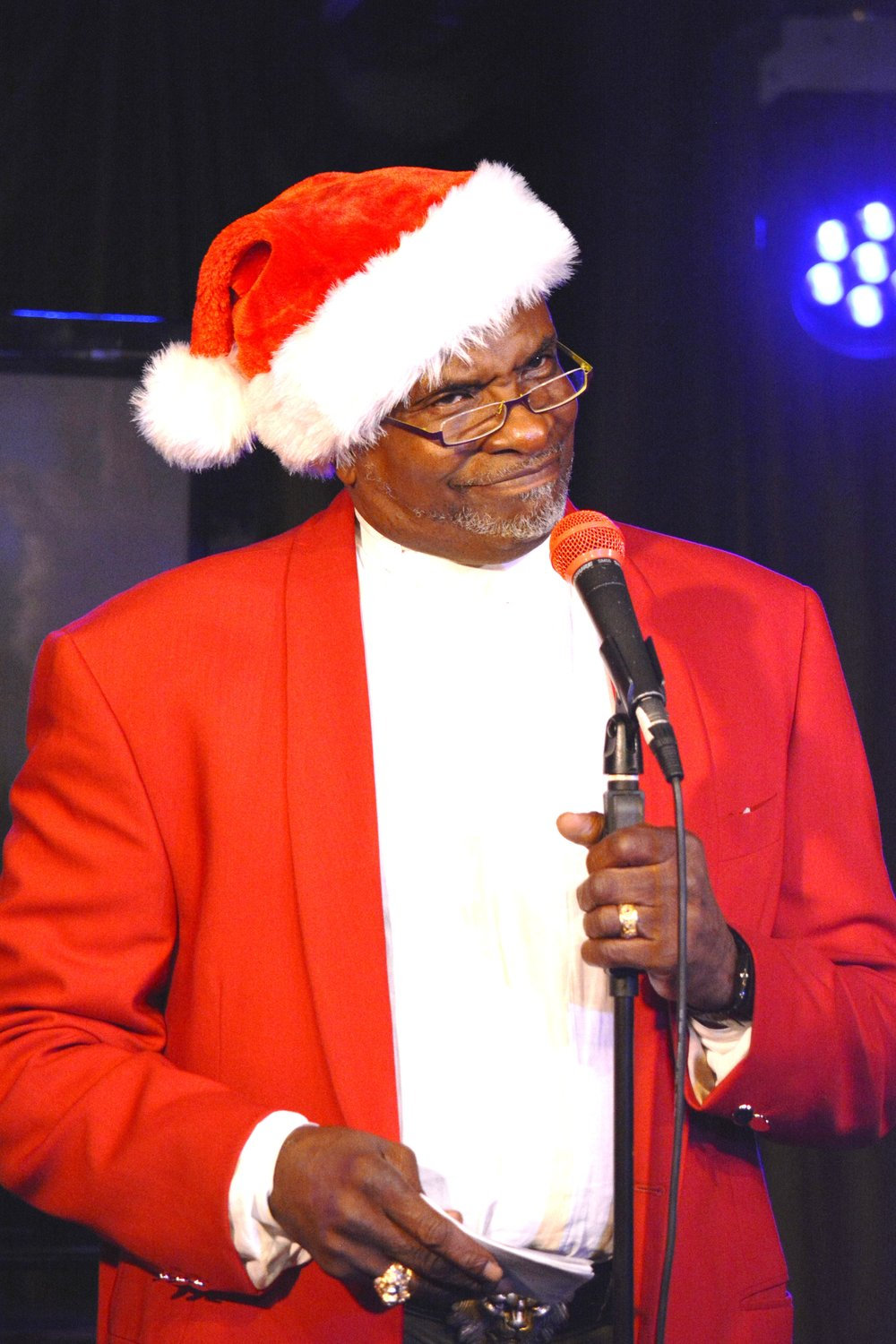 Keith David as Father Christmas (2016)
