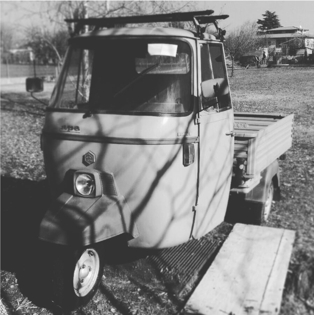 1981 Piaggio Ape 501 MP Just Arrived in the US