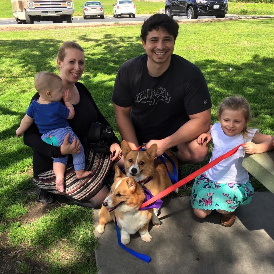 Twinky & Gizmo's furever family!