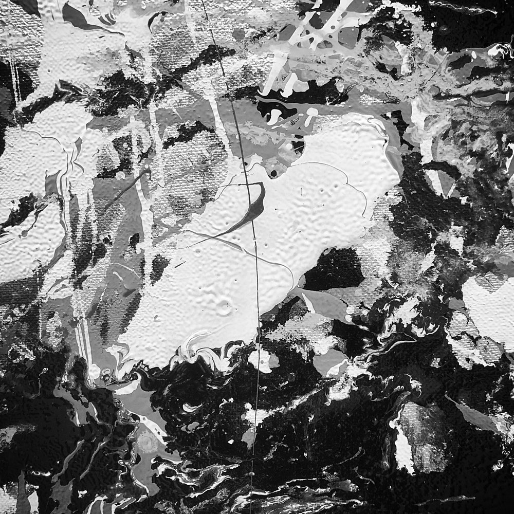 Desaturated Worlds Jackson Pollock