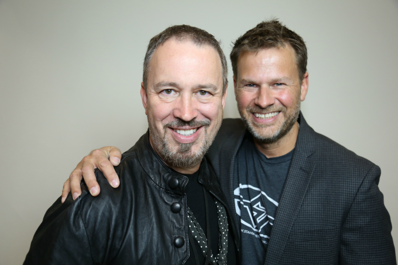 Michael Key & Academy Award winning special fx makeup artist Joel Harlow