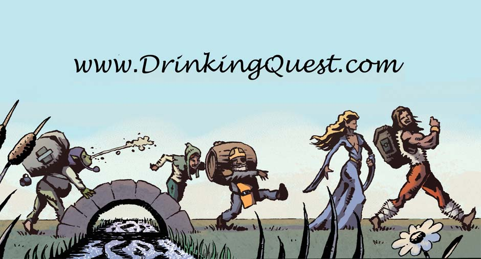 The home of the Drinking Quest series and other games by designer Jason Anarchy