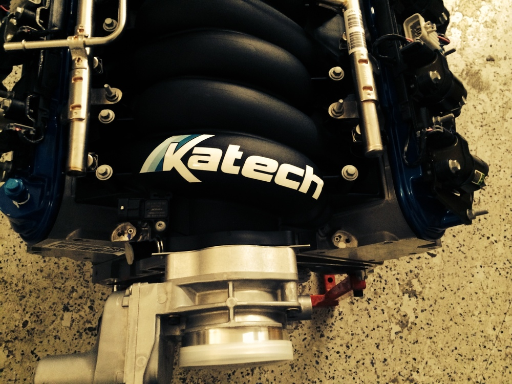 Katech race engine with Dailey dry sump for Superlite Aero