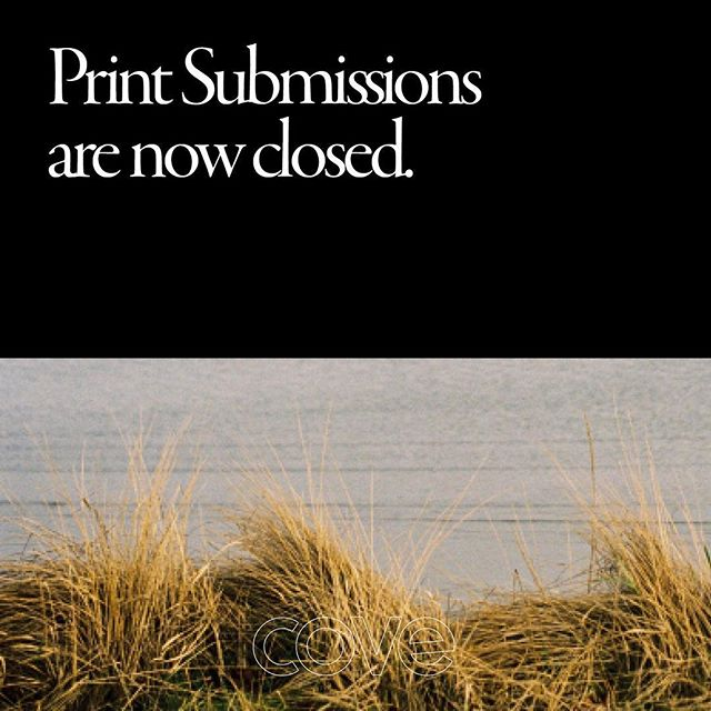 We have officially closed submissions, thanks you to everyone who's emailed in the last week, Issue 3 is going to be lit 🔥 We'll be getting back to everyone next week! #staytuned #issue3 #cove