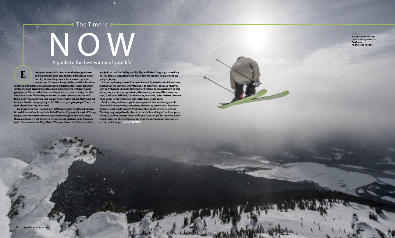 julie brown jun 28 2016 powder travel essays travel powder powder magazine skiing essays julie brown