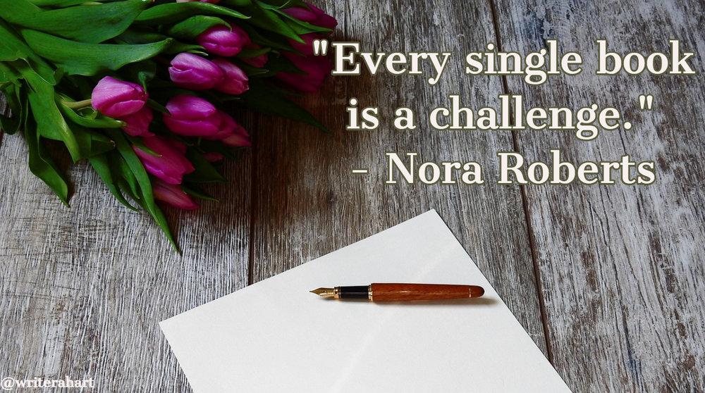 nora roberts quote