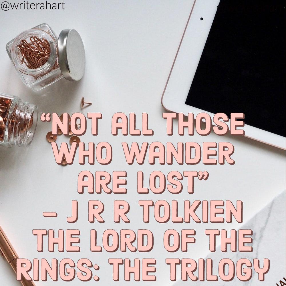 quote - @writerahart