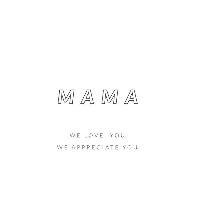 "Our girl @bakingbandits said it well - ""sending love to all those who are mothers, yearn to be mothers or who are missing their mom right now."" We're CLOSED today to spend time with our own Mamas and babies. #xoxo"