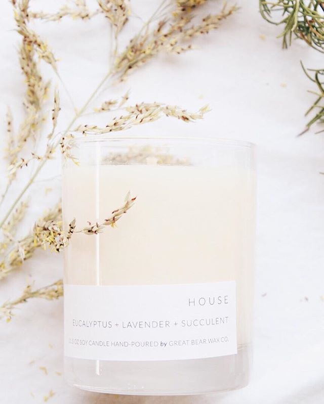 We're stocked with the House candle! Be sure to get it this week! Our LAST DAY at the space IS FRIDAY!!!