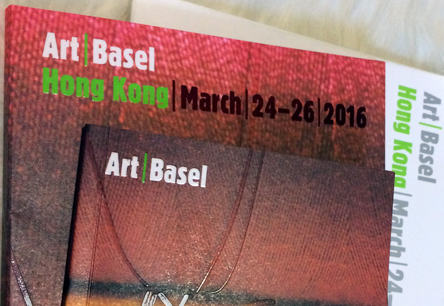 Art Basel Hong Kong 2016  MARch 24-26, 2016   Personalized itinerary (with guide).  Contact for more information