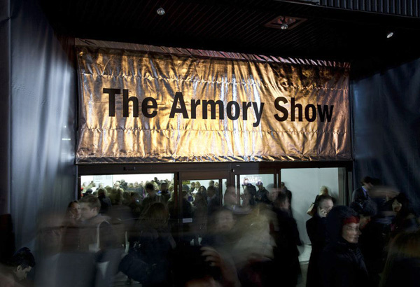NEW YORK ART WORLD -THE ARMORY SHOW   MarCH 2-4, 2016   More Information  Here