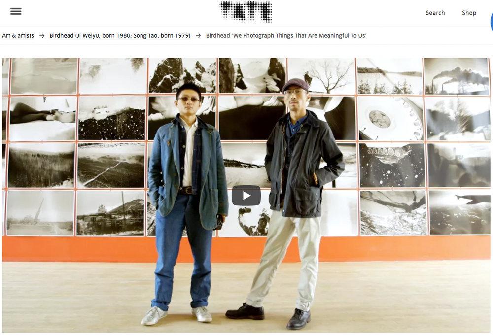 Artist duo BIRDHEAD (image: Tate)