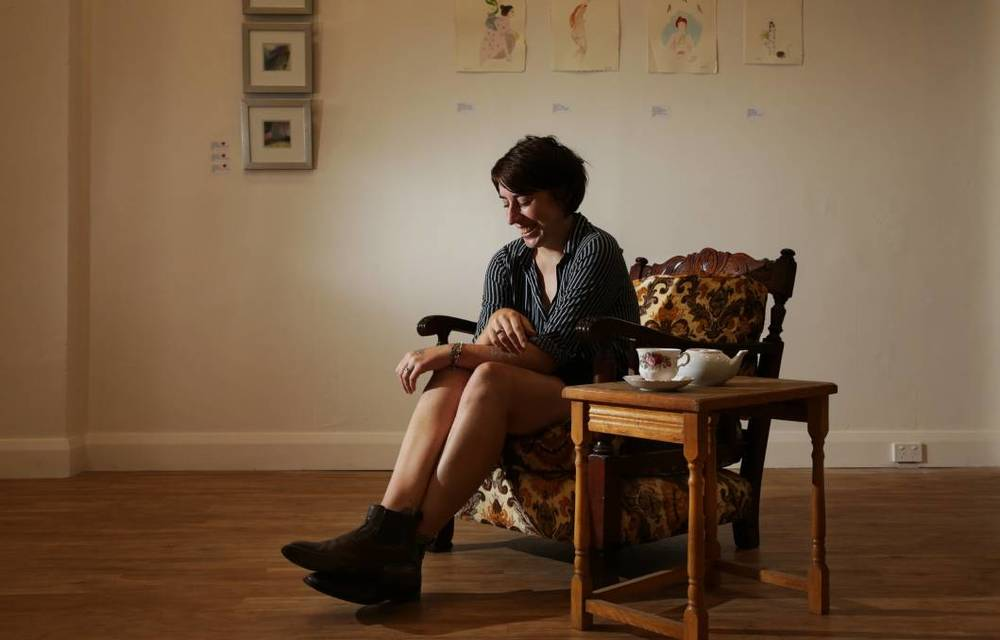 """SHOW TIME: Caroline Christie says her gallery is a part of the tide of change in her home town: """"Everything feels possible."""" Picture: Simone De Peak."""