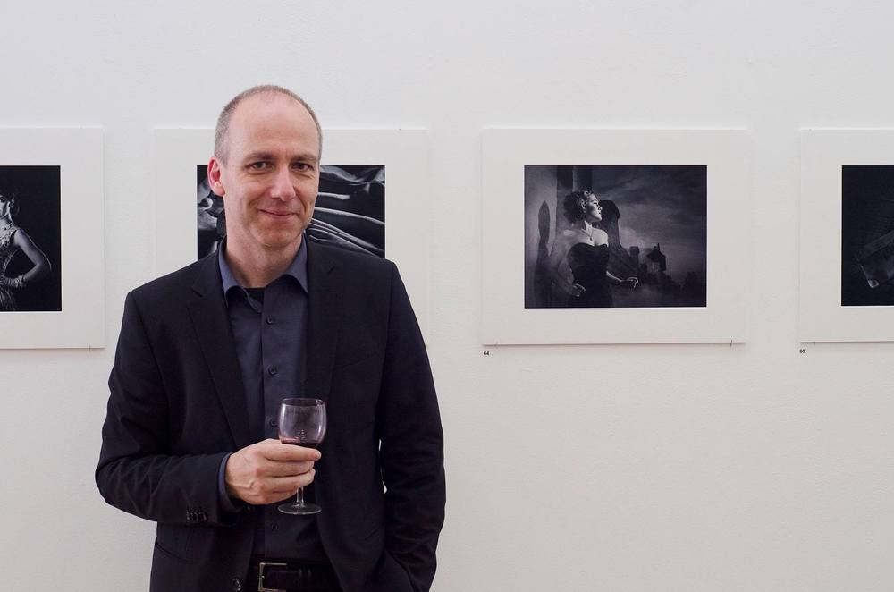 photograph taken at Newcastle Art Space (NAS) during Joerg's solo exhibition earlier in 2016