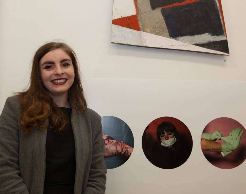 WINNER: Maisie Neale has taken out the 16th Emerging Artist Prize for her photographic works.