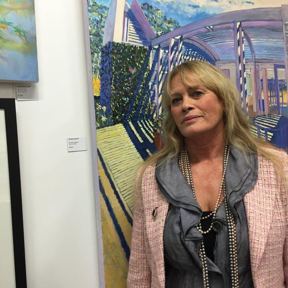 Jo Chisholm-Ray in CStudios Art Gallery during 2016
