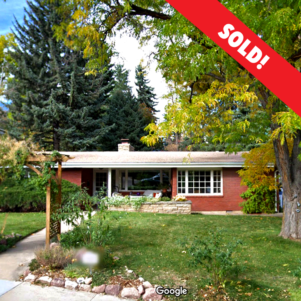 1333 Mariposa Ave. Boulder, CO