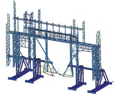 beam and spar support structures