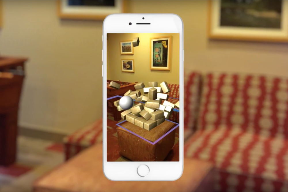 Boom - Augmented Reality Physics GAme - Labs Prototype