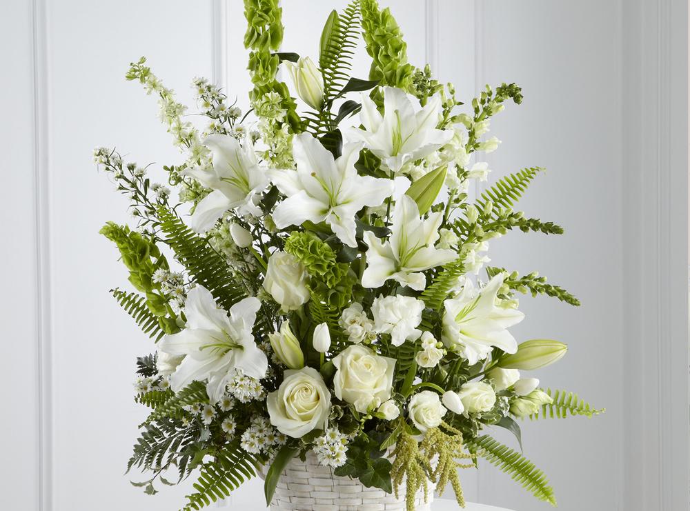 Floral Arrangement, Sympathy