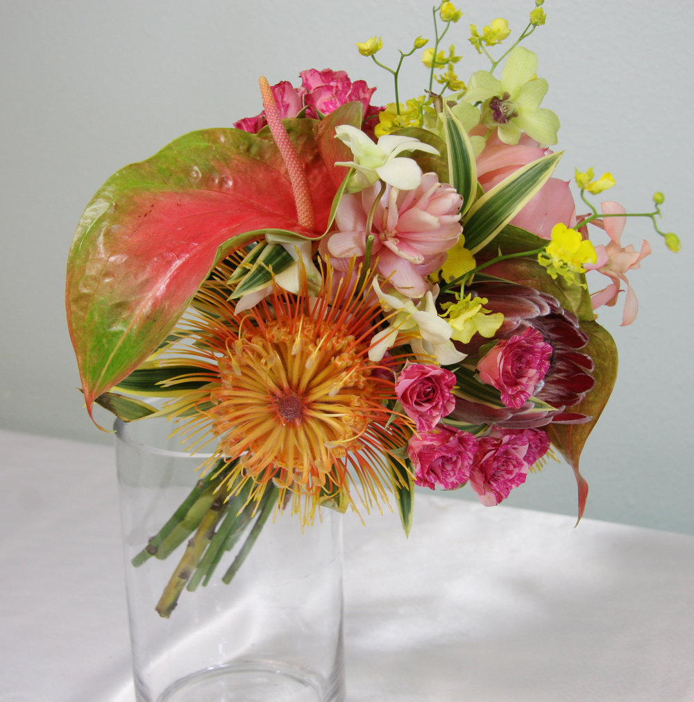 Maui Tropical Wedding Bouquet
