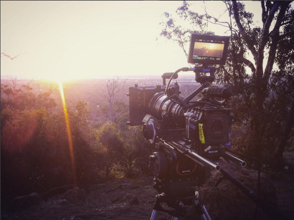 SUNSET TIMELAPSE W/ THE ANGENIEUX MOTHER OF A LENS!