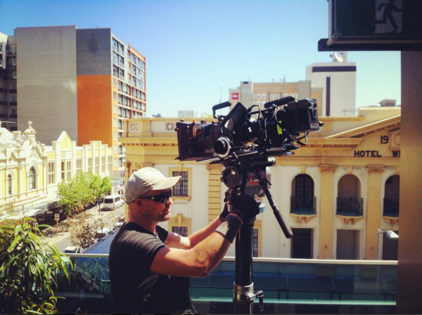 STREET PHOTOGRAPHY WITH THE ANGENIEUX AND OUR LOVELY GRIP, CLINT