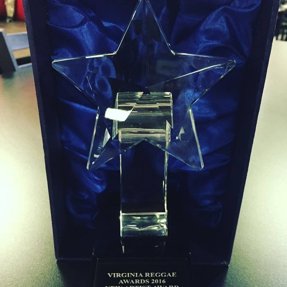 VA Reggae Awards Best New Artist of 2016