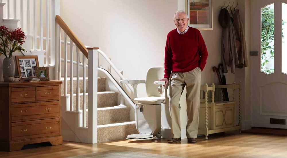 Curved Stair Lifts & Stair Lifts | Arrow Lift