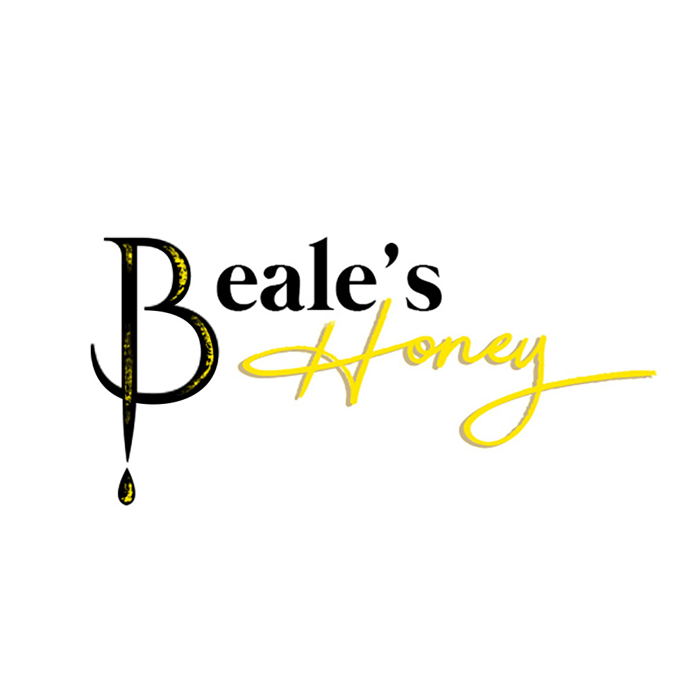 Beale's Honey  logo design, branding and packaging