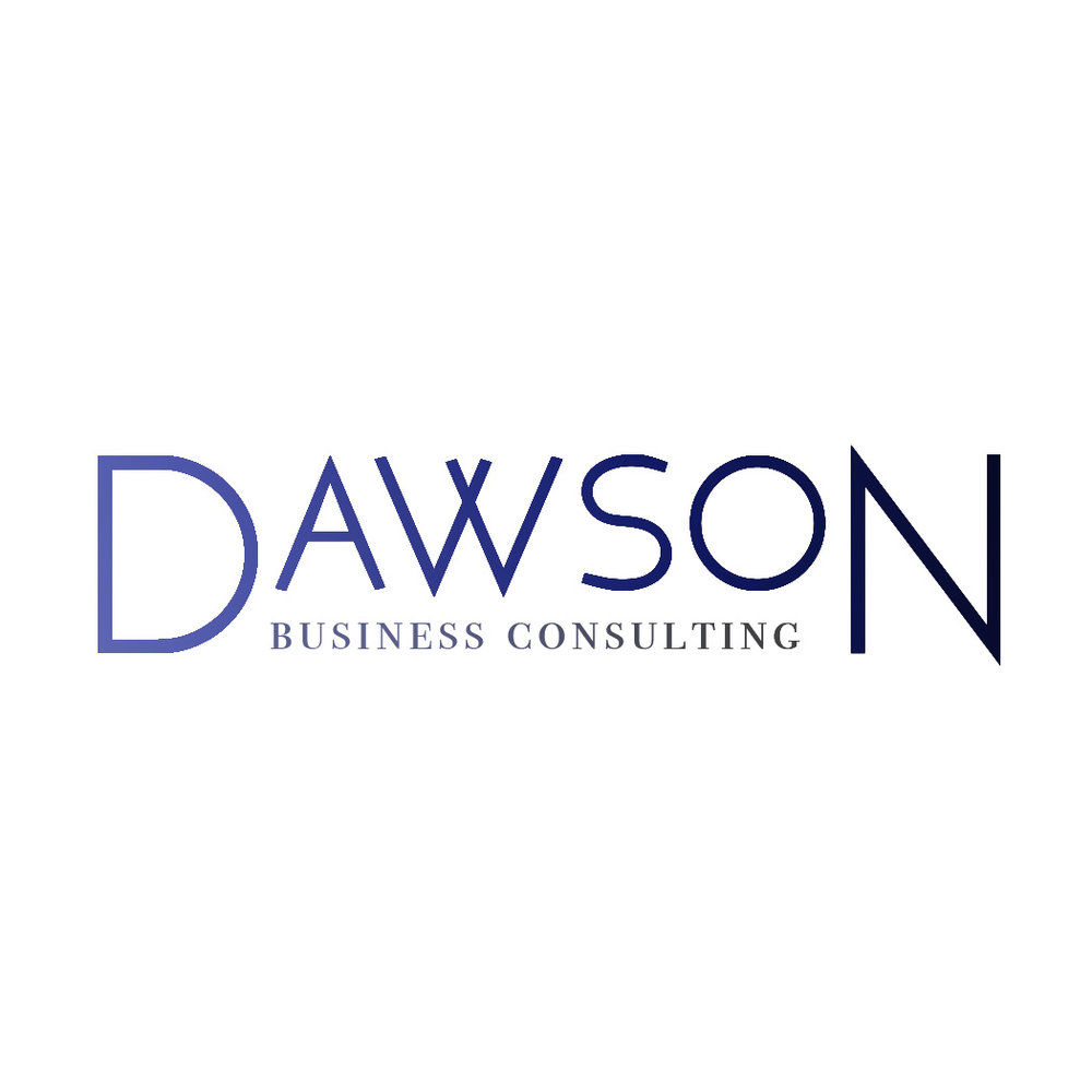 Dawson Business Consulting:  logo design, assets and branding