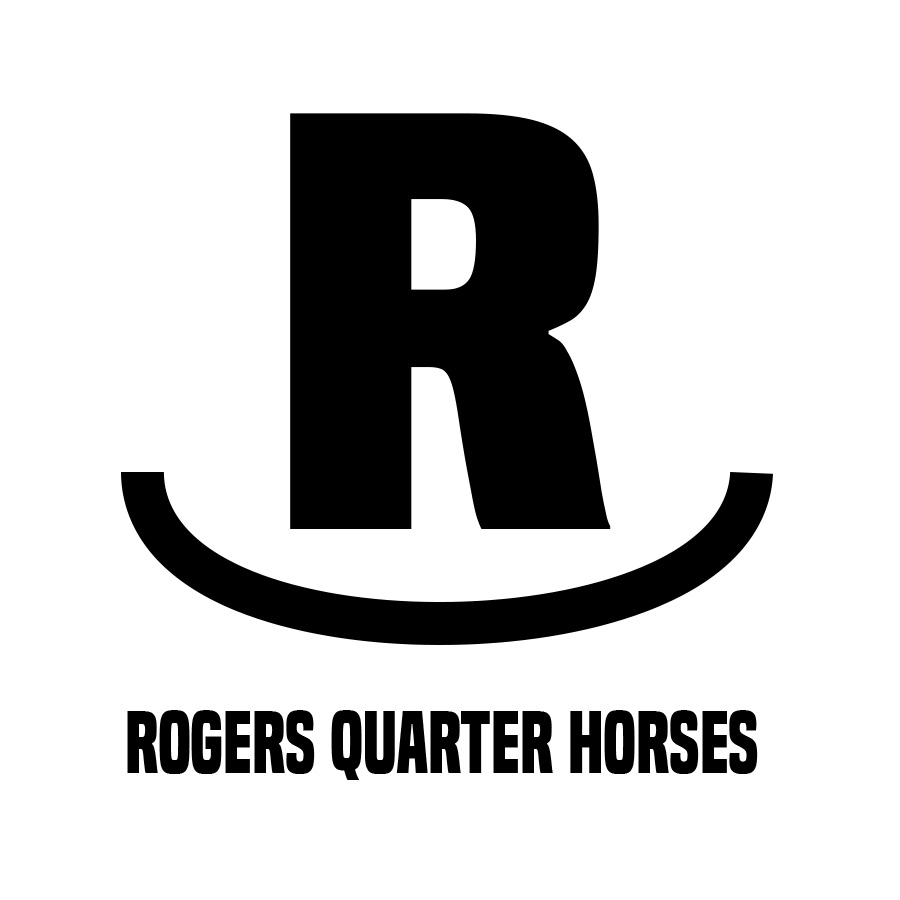 Rogers Quarter Horses:  logo design, assets and branding