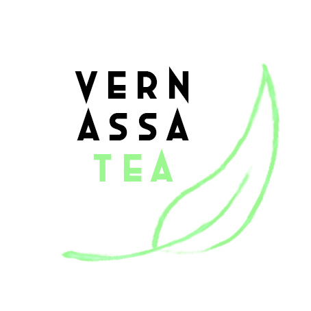 Vernassa Tea:  logo design, packaging, and animated gif