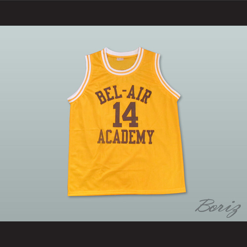 e90017c63d4b The Fresh Prince of Bel-Air Will Smith Bel-Air Academy Home Basketball  Jersey. Smith 14 Real 1.jpg