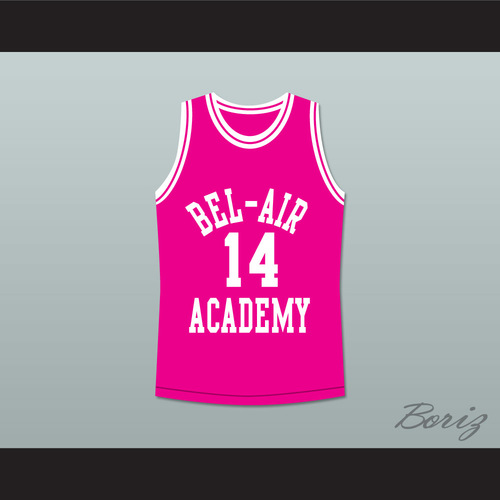 The Fresh Prince of Bel-Air Will Smith Bel-Air Academy Pink Basketball  Jersey. PINK BEL AIR SMITH 1.jpg 4eee4f43c