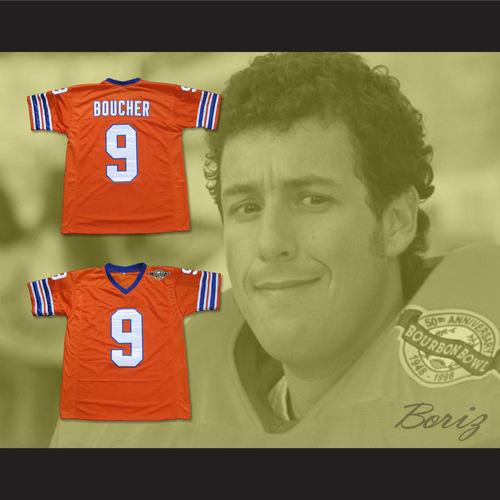 Adam Sandler Bobby Boucher The Waterboy Mud Dogs Football Jersey ... ffc7b879e
