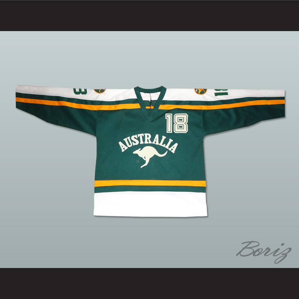 1ddbbb534 Australia National Team Hockey Jersey