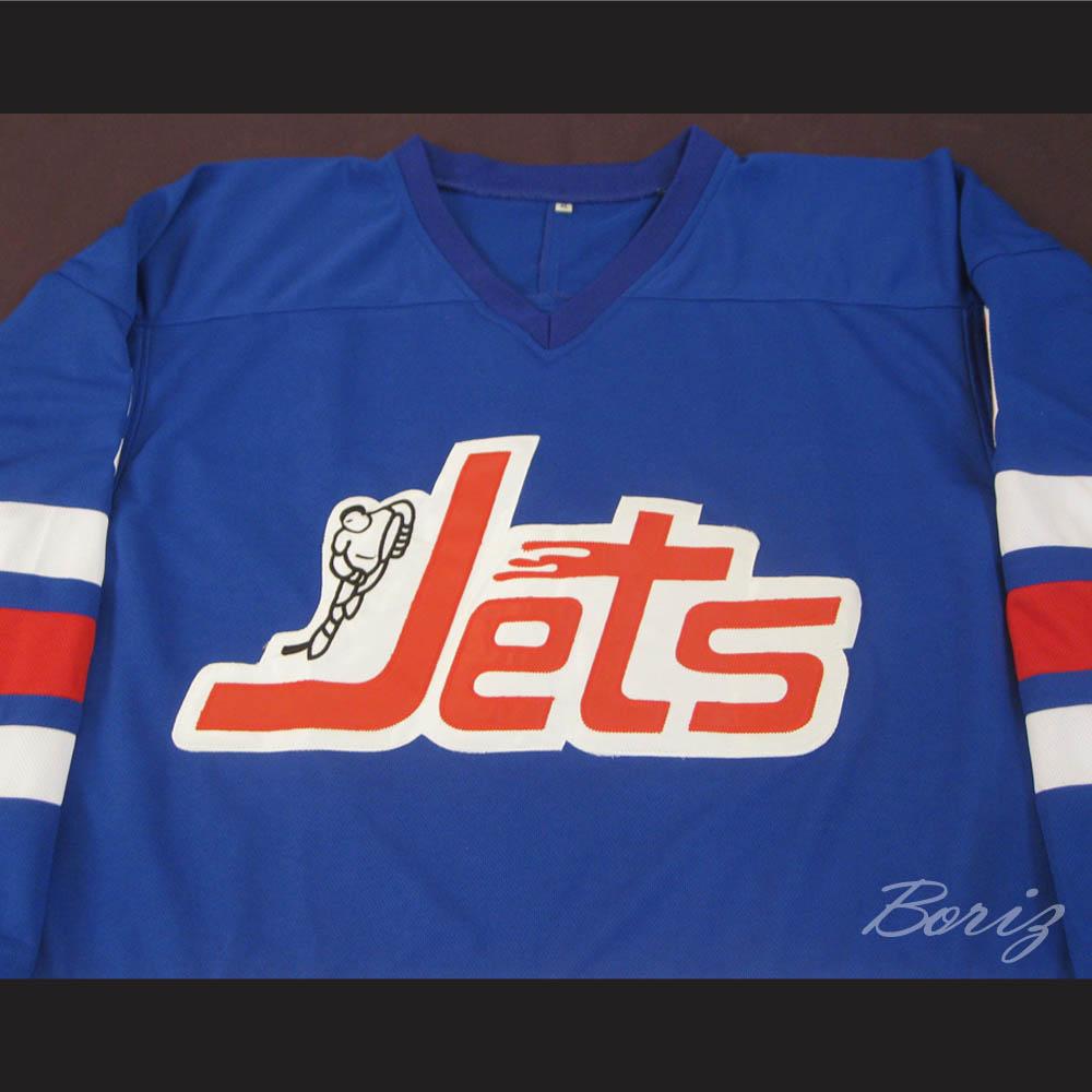 8444368da12 WHA 1972-73 Winnipeg Jets Bobby Hull 9 Away Hockey Jersey — BORIZ
