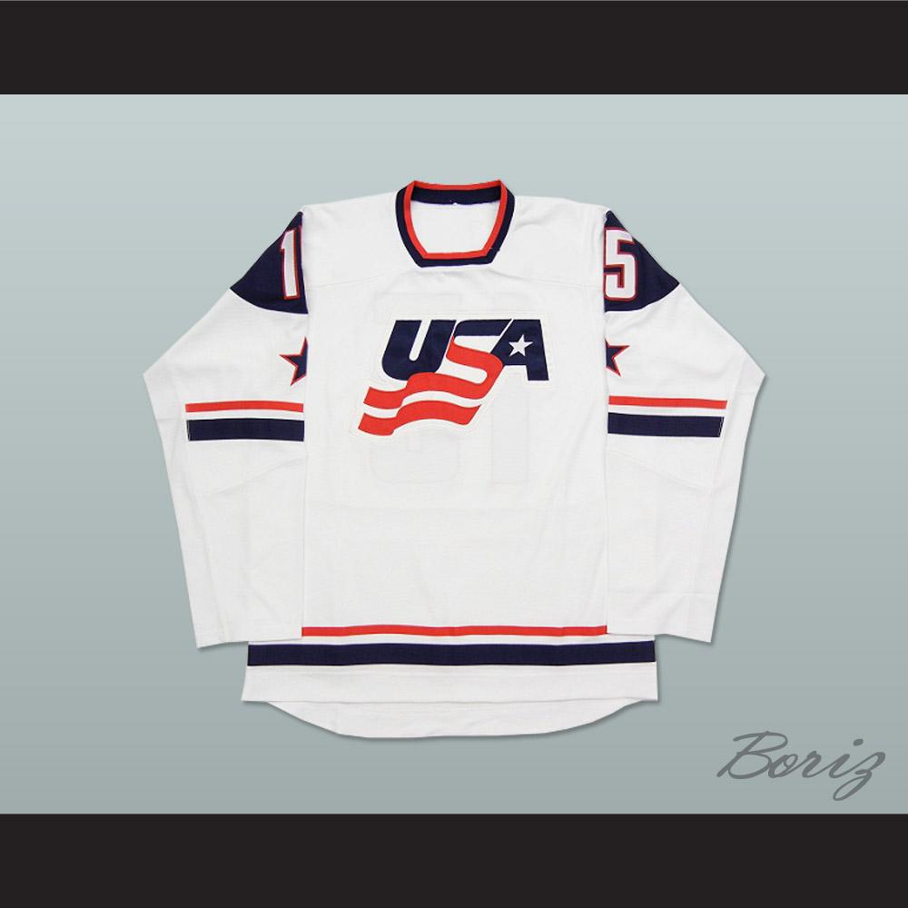 USA National Team White Hockey Jersey