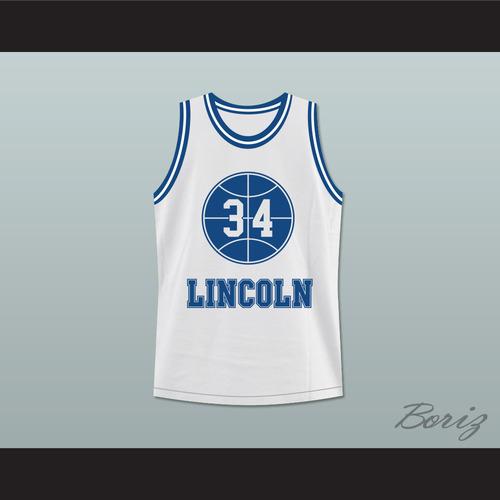 new product d6868 e7538 ... Lincoln High School Basketball Jersey He Got Game. SHUTTLESWORTH WHITE  1.jpg
