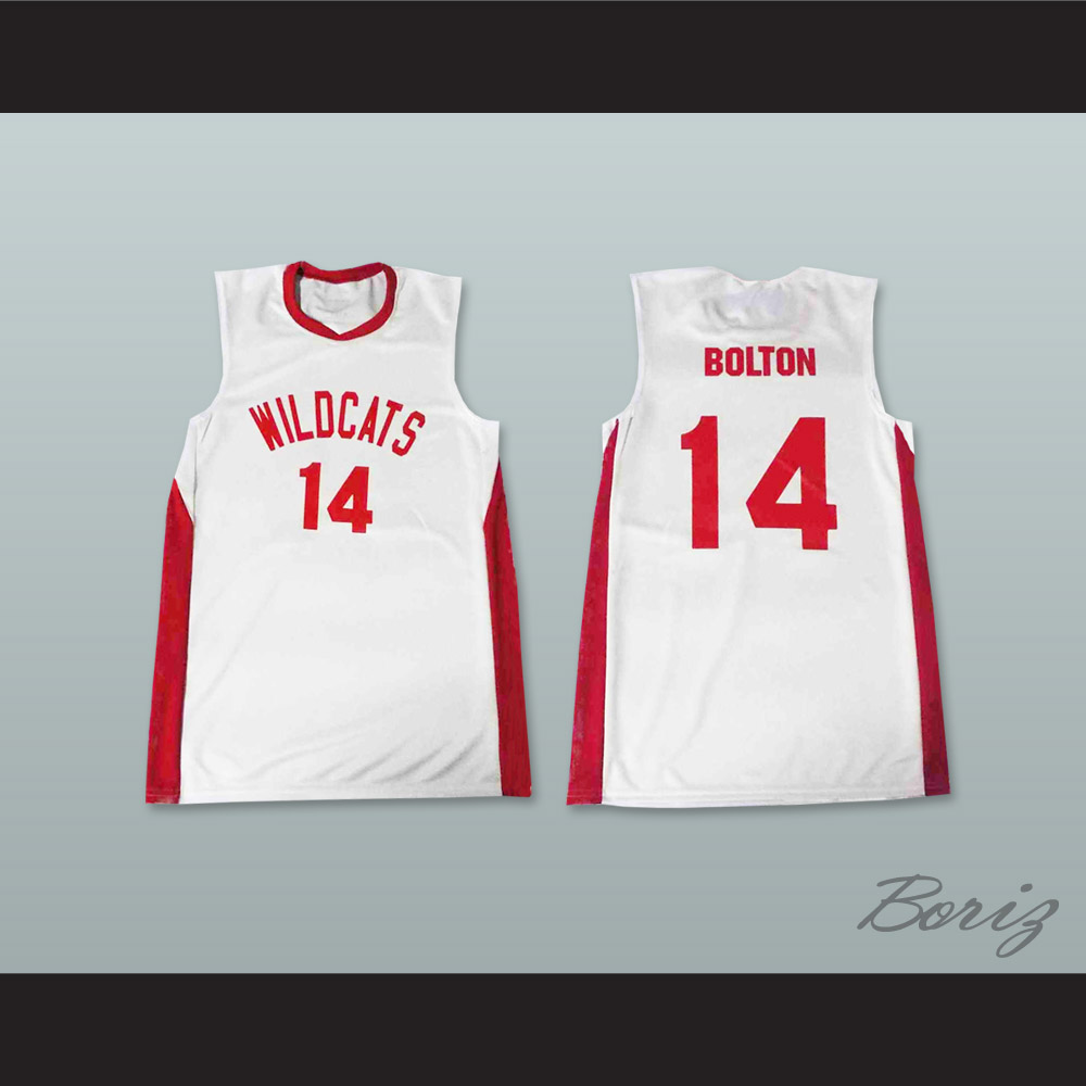 Zac efron troy bolton east high school wildcats white basketball jpg  1000x1000 Troy bolton wildcats ed79e0acd